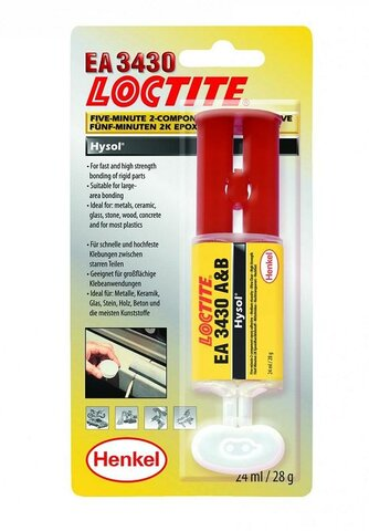 3430 Rychlý epoxid Loctite - 24ml