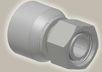 Koncovka přímá, metric. závit, ISO12151-2SWS-L/DKOL - M16x1,5