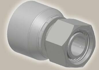 Koncovka přímá, metric. závit, ISO12151-2SWS-L/DKOL - M22x1,5
