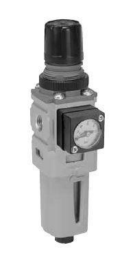 """Úpravné jednotky vzduchu - filtr regulátor Mini - 1/4"""""""