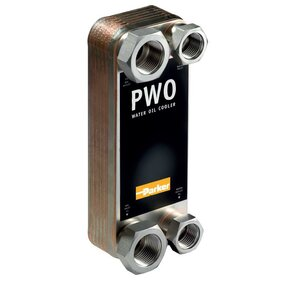 Deskový vodní chladič PWO B10THX30/1P-SC-S -