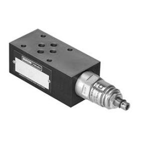 Hydraulický pojistný nepřímořízený ventil mezideskový - NG06
