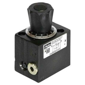 Hydraulický škrtící ventil se stabilizací tlakového spádu - NG06