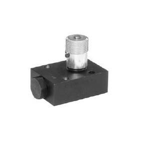 Hydraulický škrtící ventil se zpětným ventilem v provedení na desku - 600