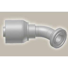 Koncovka koleno 45°,  přírubová SAE, ISO 12151-3-E45-S/SFS 45° 6000 psi - 1-1/4