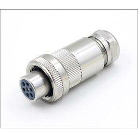 Konektor pro proporcionální ventily - 6+PE