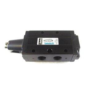 Pneumatický ventil Parker, 5/2 mechanicky ovládaný - G1/4
