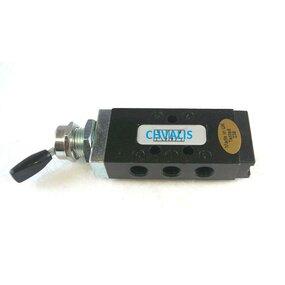 Pneumatický ventil Parker, 5/2 mechanicky ovládaný - G1/8