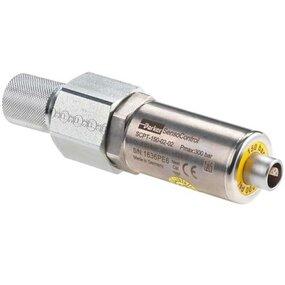 Snímač tlaku a teploty, analog, 0-600 bar, - G1/2