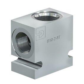 Univerzální 2cestný blok pro hydraulické vestavné ventily - C12-2